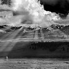 Maker:  Mike Smith<br /> Title:  Lamar Valley storm clouds<br /> Category:  Black & White<br /> Score:  14