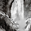 Maker:  Mike Smith<br /> Title:  Lower Falls Yellowstone River<br /> Category:  Black & White<br /> Score:  14