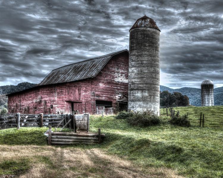 Maker:  Danny Haddox<br /> Title:  McBeevie's Barn<br /> Category:  Pictorial<br /> Score:  13