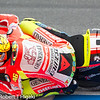 MotoGP : MotoGP at Laguna Seca: I always have a good time shooting out here where your  subjects are going very fast. Since I do not have a press pass, I have to shoot from the fences. My favorite spot is Turn 9(Rainey's curve). A nice place to shoot is the Corkscrew where you are standing above the fence line and you are in the shade to stay cool. Turn 6 is similar Turn 9 but the distance is further away. Another spot, I like to shoot but it is difficult is Turn 11. You are in the sun but you get some unique shots as the riders brake hard into the apex. Riders of both MotoGP and AMA are mixed up but you should be able to tell them apart. Plus, over the years, the riders have changed teams so if you follow MotoGP closely, you should be able to tell which photos are older vs newer.  **********Marco Simoncelli #58    R.I.P.***********