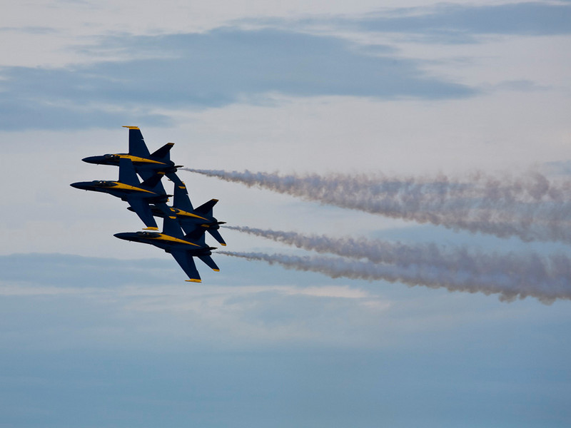 2484 blue Angles in Cleveland A