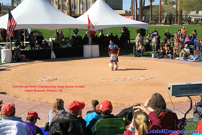 23rd Annual World Championship Hoop Dance Contest Heard Museum, Phoenix, AZ