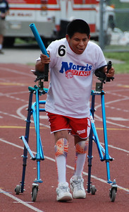 This is the epitome of determination!