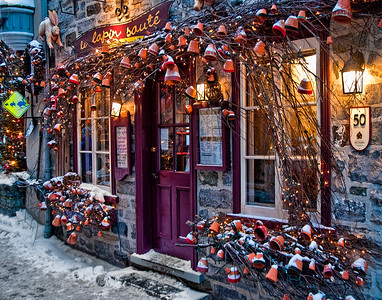 8. Boutique in Old Quebec City