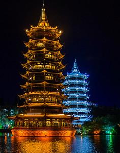 6. Pagodas of Guillen, China