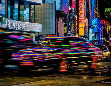 1. Streaking Through Manhattan