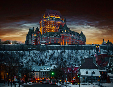 12. Hotel Frontenac - Quebec City