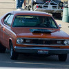 1970 Plymouth Gold Duster - it's even street legal registered.