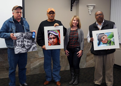 Portrait Class winners with judge Chrissy Pearson