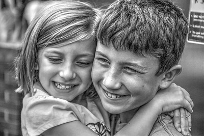 "1st  Portrait Category  ""Cousins""  Norm Stephens"