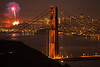 <h1>New Years in San Francisco</h1> <h3>Amateur: Color, Architecture and Urban Scenes</h3> <i>Something about the picture</i> My wife and I were on a vacation that took us through much of Northern California.  We made a plan to be in San Francisco on Near Years Eve.  We choose Mount TamaIpais as the place where we would view the fireworks from.  After an afternoon of scouting out the best location, we returned that evening with some champagne and my camera gear.  At midnight the fireworkss went off and I snapped away drinking champagne and listening to Rachmaninov with my wonderful wife.<br><br><i>Photoshop info:</i><br>I adjusted the light levels.  Otherwise this is how it came out of the camera.