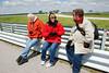 Omaha Camera Club members from left: Gary Prill, Sue Baxter, Mel Mann