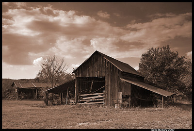 #1 'Old Barn' by cosmonaut. 9/18/07. Olympus 510.