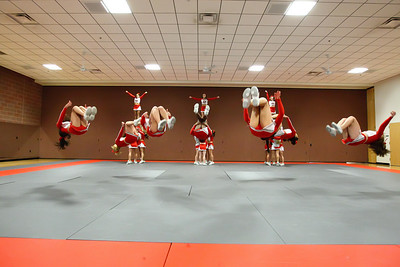 Ohio State All Girl Cheerleaders