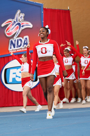 Ohio State All Girl Cheerleaders NCA College Cheer Championship Finals