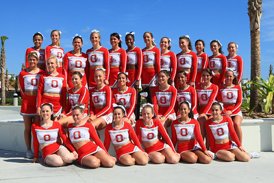 Ohio State All Girl Cheer Team Daytona Beach Photos