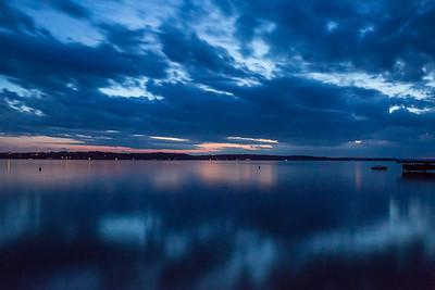 """#22   """" Torch Lake Sunset """""""