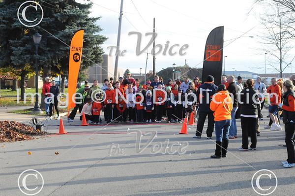 Oswego, IL 2nd Annual Fraidycat 5K run 10-28-12
