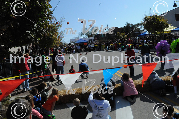 Oswego, IL Optimist Club 2nd Annual Pumpkin Races 10-22-11