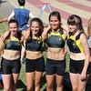Les cadettes sont championnes francophones du 4x100m