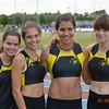 Superbe 4ème place aux championnats de Belgique de relais