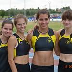4x100m cadettes filles