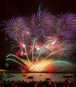 Christine_Fireworks in the Rain