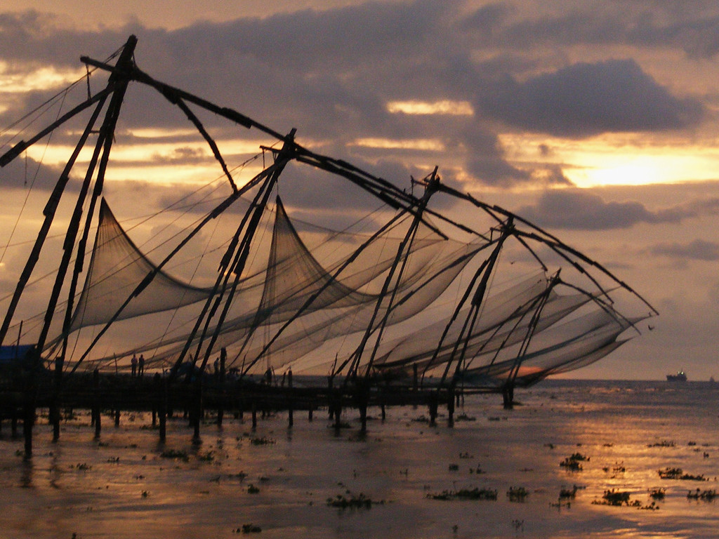 Jane Lawson - Fishing Nets of Kochin