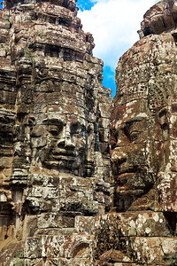 Stone Faces at the Bayon Temple Complex, Angkor Wat World Heritage Site, CambodiaPhotographers Name : Leslie WarePhotographers Location : Saipan, Northern Mariana IslandsTo vote in favor for this photo, simply add a comment below. You can also share this photo on Facebook and Twitter using the buttons above.