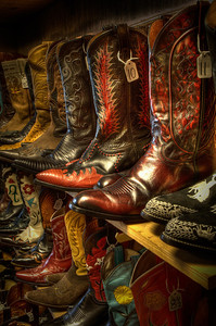 Perfect Pairs of Cowboy Boots, Wimberley, TexasPhotographers Name : Dave WilsonPhotographers City and State : Austin TXTo vote in favor for this photo, simply add a comment below. You can also share this photo on Facebook and Twitter using the buttons above.