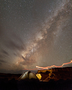 Camping on the Big Island of the Hawai\'i while the setting Milky Way engulfs the dark night sky.Photographers Name : Doug UrquhartPhotographers Location : Atlanta, GATo vote in favor for this photo, simply add a comment below. You can also share this photo on Facebook and Twitter using the buttons above.