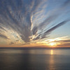 Entry: 115-SSmith<br /> <br /> Sunset & Clouds<br /> near Cold Bay, AK<br /> submitted by: Steve Smith