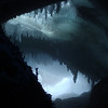A UNAVCO Staff Choice<br /> Entry: 085-Okal<br /> <br /> Inside one of the magical ice caves on Mt. Erebus, Antarctica<br /> Submitted by Marianne Okal