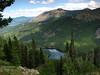 1) Subject: Strawberry Lake and Slide Mountain<br /> 2) Where it was taken: Summit trail<br /> 3) Basic area/region: Strawberry Mountain Wilderness, OR<br /> 4) Season taken: Summer