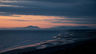 Neil Macindoe print of the year-Cambrian Sunset