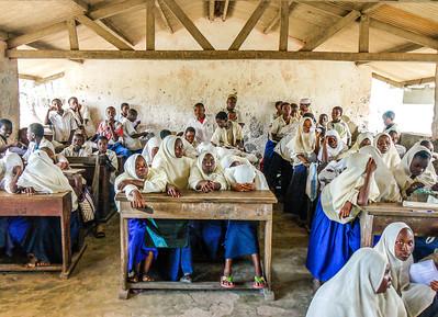 In the schoolroom