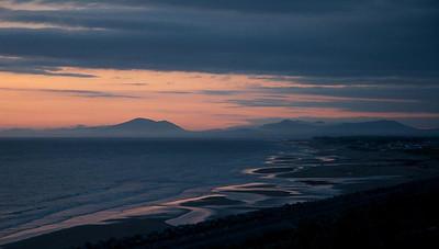 Neil Macindoe print 4-5 Landscape-Cambrian Sunset