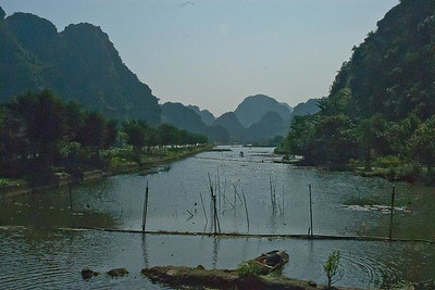 Neil Macindoe print 4-5 Landscape-Hoa Lu, Vietnam