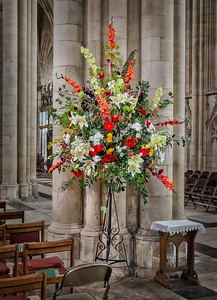 Ralph Floral Display York Minster