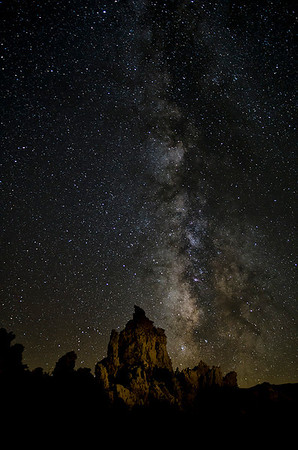 Milky Way and Tufa at Mono Lake