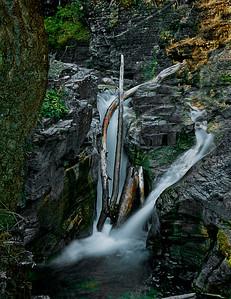 10. Waterfall - Glacier National Park