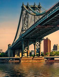 4 Manhattan Bridge At Sunrise