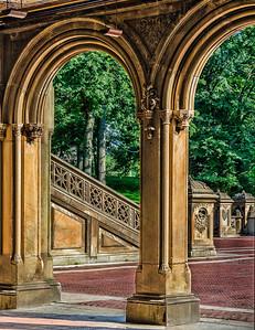 10 Bethesda Fountain Area; Central Park
