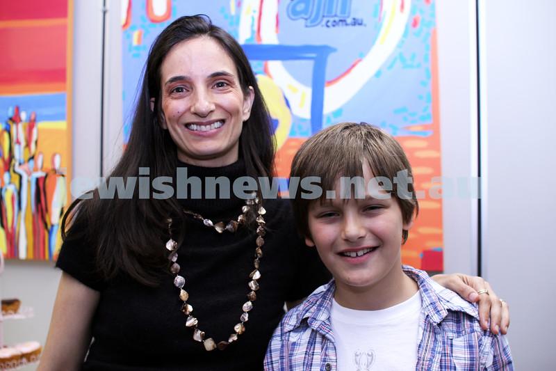 27-10-2011. Rosh Hashanah card competition finalists 2011. Ayana and Sahar Shavit. Photo: Lochlan Tangas