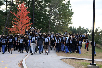 SPIRIT WEEK- RALLY & COMPETITION 10-21-2011