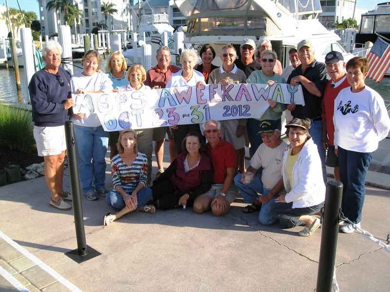 Aweekaway 2012 - this year was Manatee Sail & Power Squadron's 2nd annual week away. - Alice Brunner