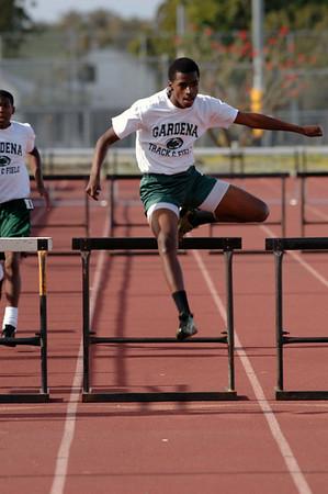 San Pedro High School Track Hurdles  5/3/2007