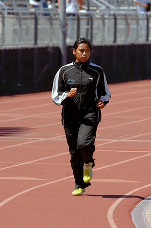 San Pedro High Womne's Track