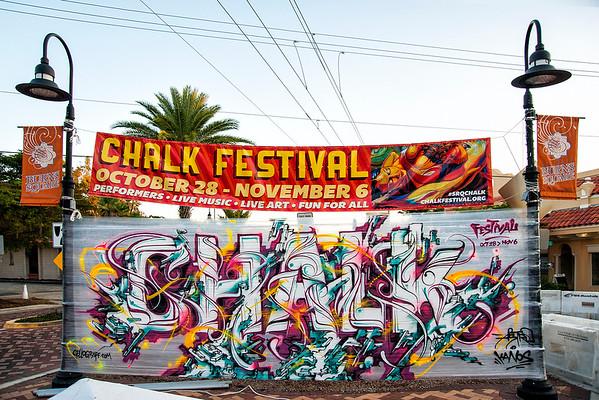 Sarasota Chalk Festival 2012