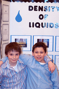 Canadian Martyrs' School Fair ... Drake and Patrick O'Neil's Density of Liquid Project